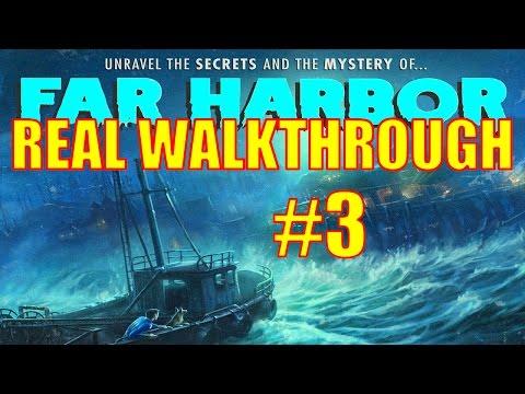 Fallout 4 Far Harbor Walkthrough Part 3 - The Town of Far Harbor