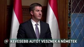Kevesebb autót vesznek a németek 2019-07-28