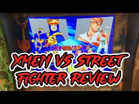 X-men vs. Street Fighter Arcade1Up Review from OfficeArcade