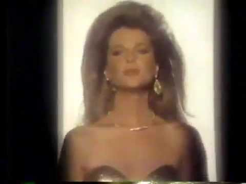 Catherine Oxenberg 1985 Almaden Golden Champagne Commercial