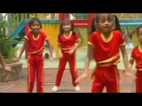 Dunia Anak Anak   Senam Ayo Baris untuk PAUD versi Anak ~ #Dua Dunia Anak Anak