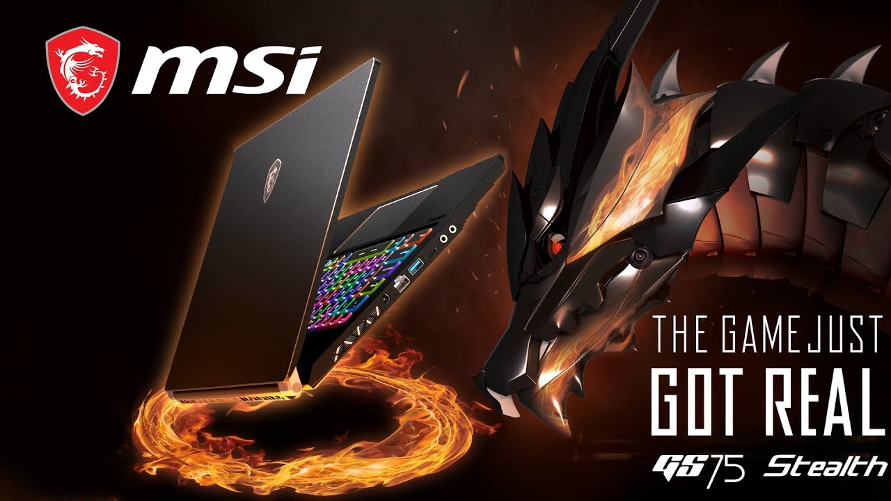 """GS75 Stealth – The Slimmest 17"""" Gaming Laptop with RTX 2080 