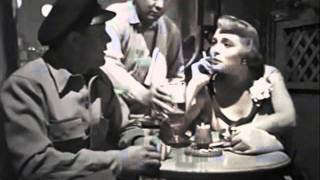 The Breaking Point  1950  (Bar Scene).. Film Noir