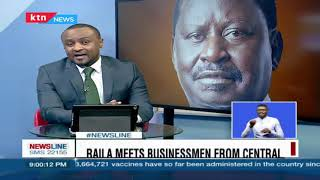 Raila Odinga tells Mt. Kenya that he is best suited to take over from president Uhuru