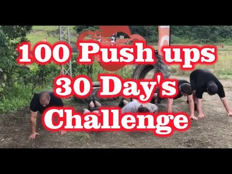 100 Push ups for 30 Days Challenge - Review Outlaw