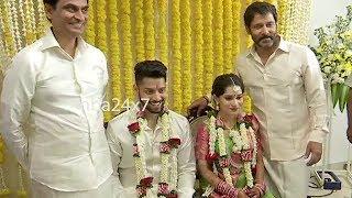விக்ரம் மகள் திருமணம் | Vikram's daughter Akshita marriage FULL VIDEO | nba 24x7
