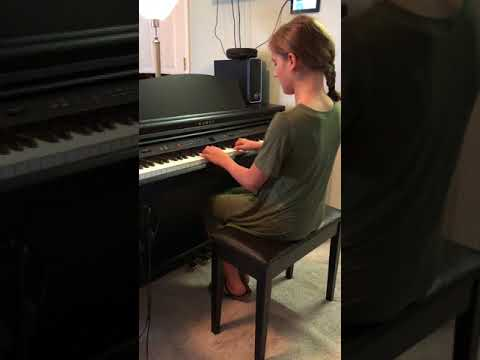 Piano Marvel Competition 2018 Ella Van Wyhe playing