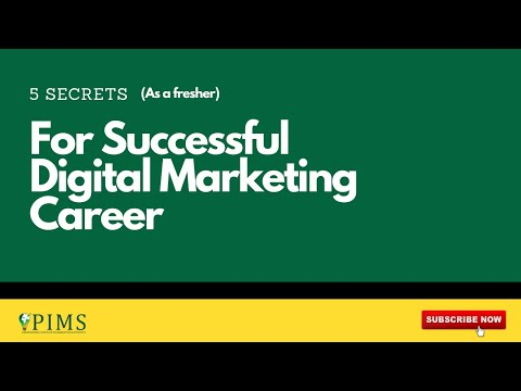 [Hindi] How To Become Successful In Digital Marketing Career As A Fresher