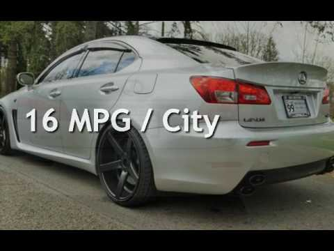 2008 lexus is f lowered 20 wheels 416hp for sale in milwaukie or youtube. Black Bedroom Furniture Sets. Home Design Ideas