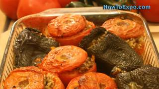 Greek Stuffed Tomatoes (best Baked Stuffed Tomatoes Recipe)