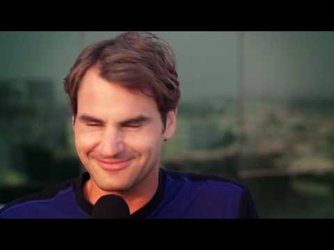 Up, Close and Personal with Roger Federer