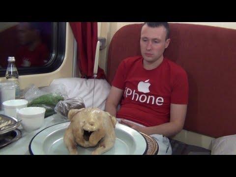 В спальном вагоне из Красноярска в Москву