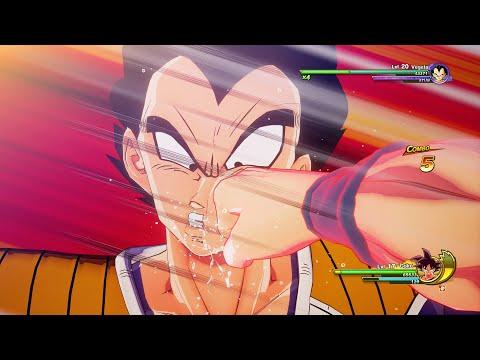 Dragon Ball Z: Kakarot - Goku Vs Nappa & Vegeta Boss Fight