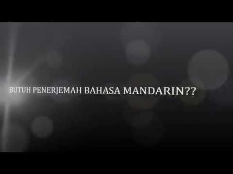 ALL MANDARIN - PENERJEMAH / INTERPRETER MANDARIN TERSUMPAH, PRIVATE / LES MANDARIN, JKT - TGR