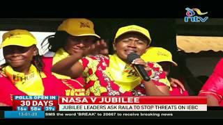 Video Stop threatening IEBC; Jubilee Murang'a leaders tell Raila download MP3, 3GP, MP4, WEBM, AVI, FLV September 2017