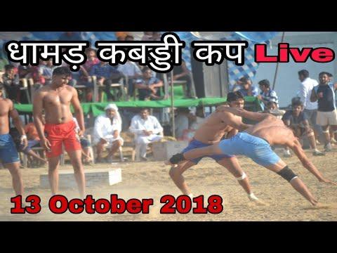 🔴Live Dhamar Kabaddi Cup 13 October Haryana Sports Live ।। Live Kabaddi  Today