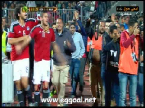 اهداف مباراة مصر ونيجيريا - هدف رمضان صبحى ضد نيجيريا|| تصفيات كأس امم افريقيا 29-3-2016