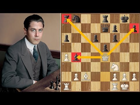 One Does Not Simply Waste a Move Against Capablanca   San Sebastian (1911)
