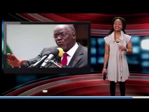 Mwanadada wa Nigeria amtolea uvivu Magufuli, amfananisha na Mugabe