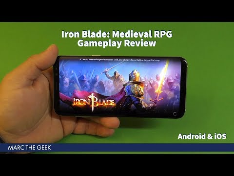 Iron Blade: Medieval RPG Android Gameplay Review