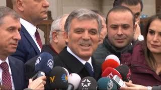 Abdullah Gül'den Erdoğan ve Yıldırım'a KHK cevabı