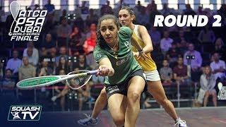 Squash: World Series Finals 2017/18 - Women's Rd 2 Roundup