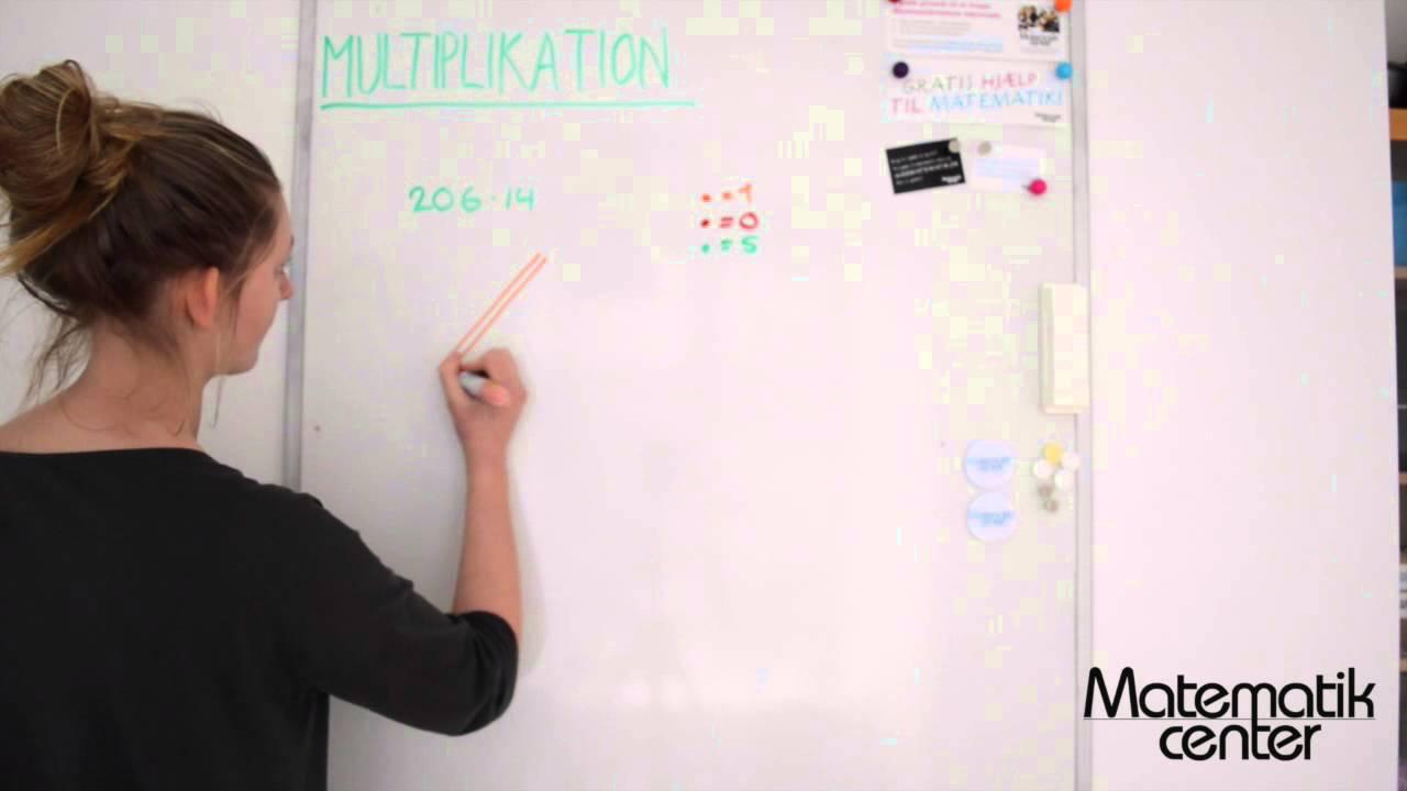 To metoder til multiplikation