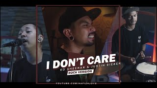 Baixar ED SHEERAN & JUSTIN BIEBER - I DON'T CARE Ft Ijal Bulb (Rock Version Cover)