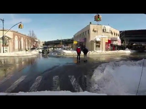 2016 Blizzard Jonas ~ New York Driving The Day After