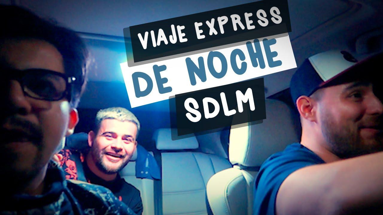 Así es viajar a Mazatlán de noche con el SDLM