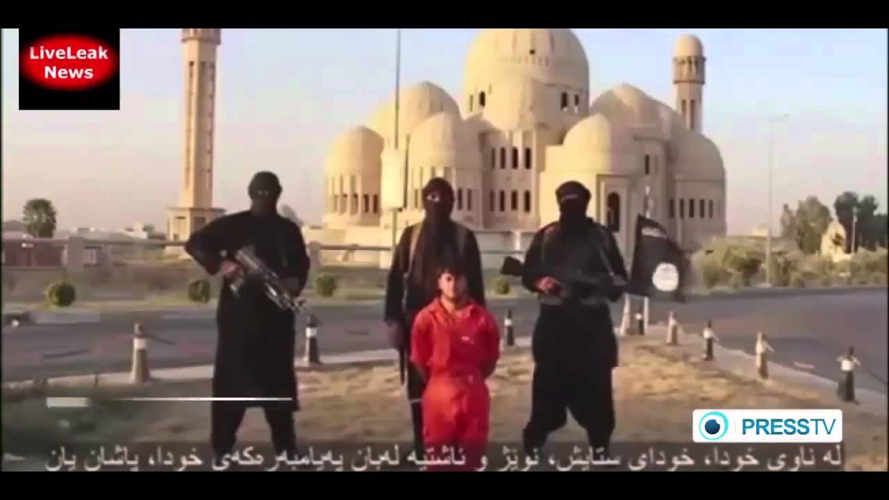 ISIL releases footage of beheading Kurdish victim - YouTube