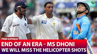 The Star of the Game Retires | Will Never Forget the PHAINTAS inflicted by MS Dhoni | Shoaib Akhtar