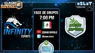 Clash Royale-Liga Royale Stadium/Day 6-Royale sports vs Infinity sports