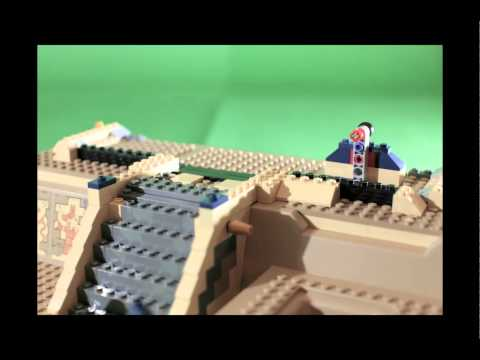 STOP MOTION - LEGO Pharaoh's Quest - 7327 - The Scorpion's Pyramid