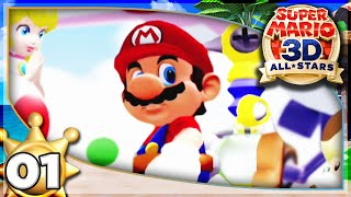 Bianco Hills! Super Mario Sunshine (3D All-Stars) 100% Walkthrough Part 1!