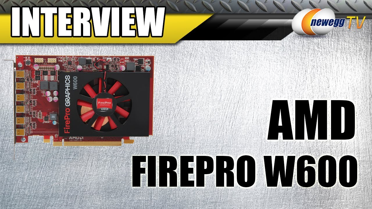 DRIVER FOR AMD FIREPRO W600