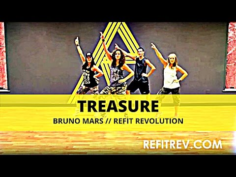 Treasure  Bruno Mars  Dance Fitness  REFIT® Revolution