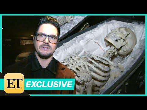Zak Bagans of Ghost Adventures Takes ET on a Tour of his Haunted Museum EXTENDED CUT