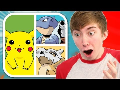 GUESS THE POKEMON (iPhone Gameplay Video)