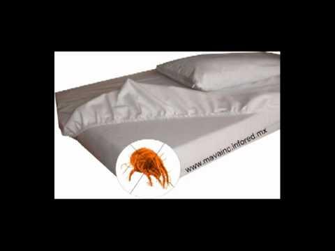 Cubre colchones almohadas anti caros repelente de - Protector de colchon impermeable ...