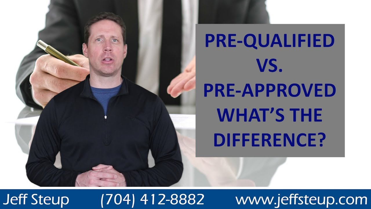 Pre-Qualification vs Pre-Approval When Buying a Home in South Charlotte / Waxhaw