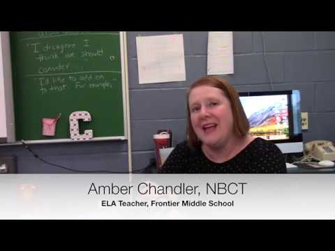 2018 Educator of the Year - Amber Chandler