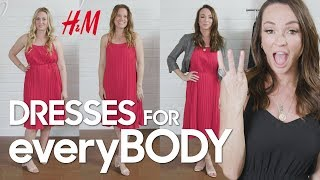 H&M Spring + Summer Dresses for everyBODY