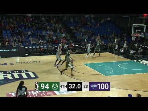 Joel Bolomboy Posts 20 points & 14 rebounds vs. Greensboro Swarm