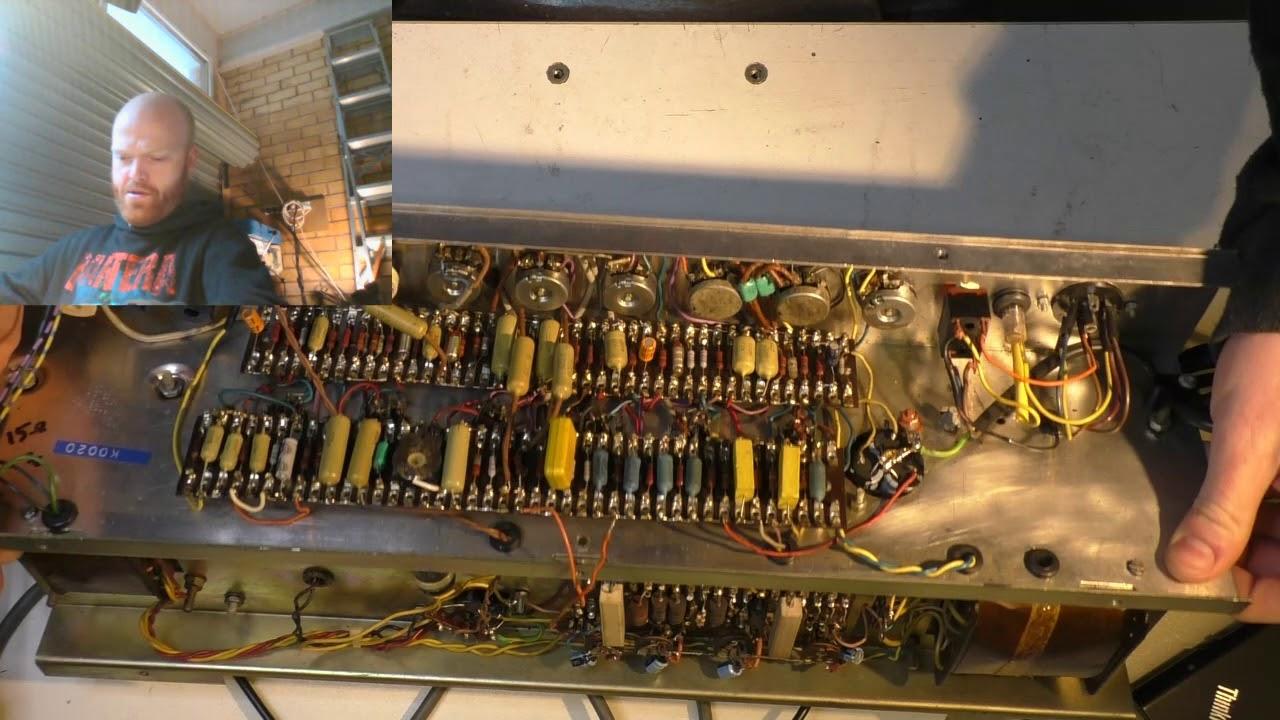 [SODI_2457]   Vox Dallas Era AC30 Restoration - Part 1 - YouTube   Vox Ac30 Wiring      YouTube