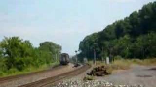 Amtrak Train 69 blasts through Tivoli and trips the detector