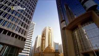 Падающая башня в Абу Даби - суперсооружения!(Познакомьтесь с самой необычной башней на планете, которую построили в Абу-Даби под самым большим наклоном..., 2013-11-08T15:00:58.000Z)