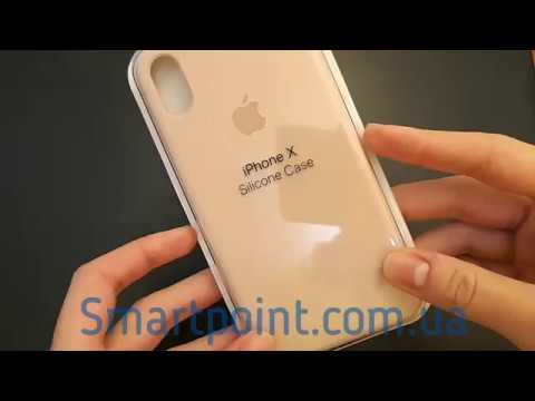 free shipping 1e337 2acec Apple Silicon Case iPhone X Pink Sand