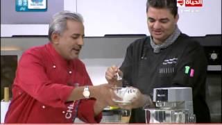 برنامج المطبخ - طريقة عمل الاسبونج - الشيف قدري - الشيف يسري خميس - Al-matbkh