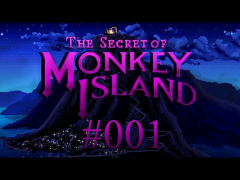 MONKEY ISLAND #001 - I want to be a Mighty Pirate ♪ Let's Play The Secret of Monkey Island |